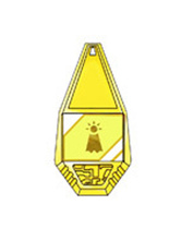 Anime Costumes AF-S2-655059 Digital Monster Digimon Badge Cosplay Props Hope