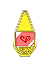 Anime Costumes AF-S2-655055 Digital Monster Digimon Badge Cosplay Props Love