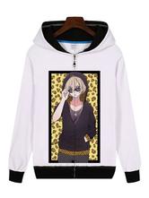 Anime Costumes AF-S2-655027 YURI!!! On ICE Yuri Plisetsky White Anime Cosplay Hoodie