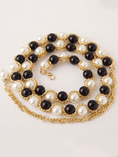 Anime Costumes AF-S2-655221 Waist Chain Belly Dance Costume Pearls Beaded Bollywood Dance Accessories