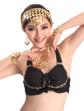 Anime Costumes AF-S2-655207 Belly Dance Costume Gold Alloy Bollywood Dance Jewelry Accessories In 3 Piece Set