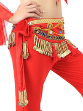 Anime Costumes AF-S2-655183 Belly Dancing Hip Scarf Red Tassels Waist Chains Women's Belly Dance Costume Accessories