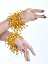 Anime Costumes AF-S2-655259 Belly Dance Bracelet Costume Women's Gold Plastic Bollywood Dance Jewelry
