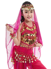 Anime Costumes AF-S2-655253 Belly Dance Veil Costume Kid's Pendent Headpiece Bollywood Dance Accessory
