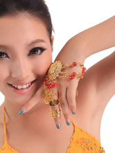 Anime Costumes AF-S2-655203 Bracelet Belly Dance Costume Gold Beaded Metal Detail Bollywood Dance Jewelry Accessories