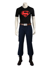 Anime Costumes AF-S2-656267 Young Justice Superboy Conner Kent Halloween Cosplay Costume