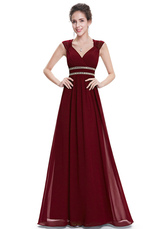 9 Reviews · Chiffon Evening Dresses Queen Anne Neckline Formal Dresses  Lavender Beaded A Line Backless Floor Length Party Dresses a7a903ce9107