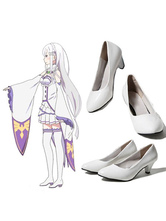 Anime Costumes AF-S2-658307 Re:Zero Starting Life In Another World Emilia Cosplay Shoes