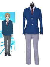 Anime Costumes AF-S2-659187 Blue Spring Ride Kou Mabuchi Aya Kominato Cosplay Costume School Uniform