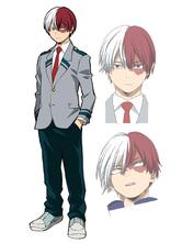 Anime Costumes AF-S2-659179 My Hero Academia Boku No Hero Academia Todoroki Shouto Midoriya Izukui Cosplay Costume School Uniform