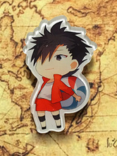 Anime Costumes AF-S2-659799 Haikyuu!! Kuroo Tetsurou Kawaii Anime Key Chain