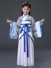 Anime Costumes AF-S2-659809 Halloween Chinese Costume Girls Blue Ancient Hanfu Costume