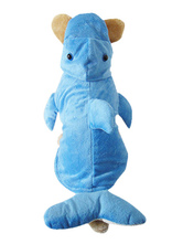 Anime Costumes AF-S2-659841 Pet Halloween Costume Light Sky Blue Dolphin Costume For Dog And Cat