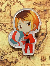 Anime Costumes AF-S2-659801 Haikyuu!! Kawaii Alloy Anime Key Chain
