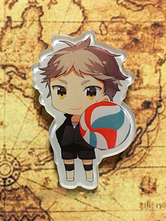 Anime Costumes AF-S2-659803 Haikyuu!! Anime Alloy Key Chain