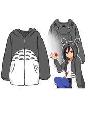 Anime Costumes AF-S2-659767 My Neighbor Totoro Totoro Anime Winter Hoodie