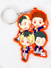 Anime Costumes AF-S2-659793 Haikyuu!! TKarasuno High School Orange Anime Key Chain