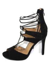 Chaussures à talons à talons aigus en micro daim talons couverts de polyuréthane / PU