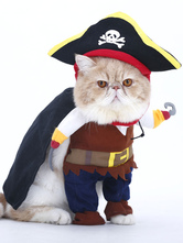 Anime Costumes AF-S2-659963 Pirate Pet Costume Cat Clothing Halloween Smale Dog Coat