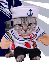 Anime Costumes AF-S2-659971 Sailor Cat Coat Jumpsuit Pet Dog Costume