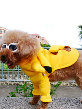 Anime Costumes AF-S2-659953 Yellow Hoodie Pikachu Dog Costume