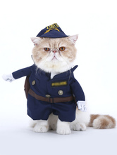 Anime Costumes AF-S2-659965 Halloween Cat/dog Police Costume