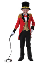 Anime Costumes AF-S2-660227 Carnival Circus Lion Tamer Costume Halloween Ringmaster Costume For Kids