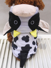Anime Costumes AF-S2-659945 Hooded Cow Dog Costume Halloween Pet Costume