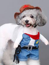 Anime Costumes AF-S2-659967 West Cowboy Pet Dog Clothes Pet Uniform Costume With Hat