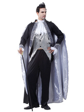 Anime Costumes AF-S2-659879 Halloween Vampire Costume Men's Black Costume Outfit