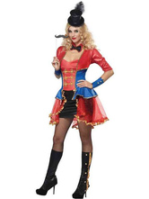 Anime Costumes AF-S2-660213 Carnival Circus Costume Halloween Ringmaster Costume For Women