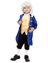 Anime Costumes AF-S2-659883 Boy's Aristocrat Costume Lawyer Politician Costume For Kids