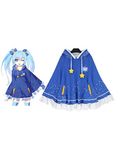Anime Costumes AF-S2-660061 Vocaloid Hatsune Miku Star Cosplay Anime T Shirt