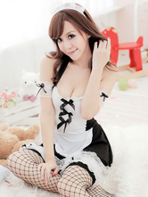 Anime Costumes AF-S2-659905 Sexy Maid Outfit Lace Lingerie Fancy Dress Servant Costume Cute Uniform