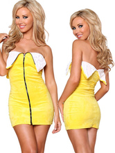 Anime Costumes AF-S2-660385 Sexy Carnival Costume Halloween Yellow Banana Costume
