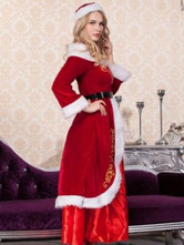 Anime Costumes AF-S2-660379 Sexy Christmas Santa Costume Red Dress Outfits For Women