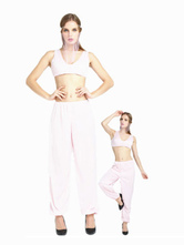 Anime Costumes AF-S2-661291 Arabian Princess Costume Halloween Women's Light Pink Outfit Asian Costume