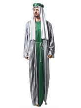 Anime Costumes AF-S2-661303 Halloween Arabian Costume Men's Gown Outfit Asian Costume
