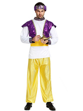 Anime Costumes AF-S2-661337 Halloween Arabian Costume Men's Purple Outfit Asian Costume