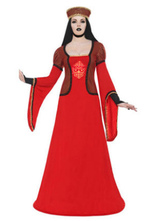Anime Costumes AF-S2-661279 Arabian Princess Costume Halloween Women's Red Dress Outfit Asian Costume