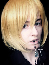 Anime Costumes AF-S2-661747 Death Note M Mello Cosplay Wig