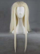 Anime Costumes AF-S2-661751 The Hobbit Thranduil Cosplay Creamy White Wig