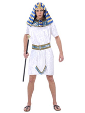 Anime Costumes AF-S2-662065 Halloween Couple Costume Egyptian King Queen Fancy Dress Outfit