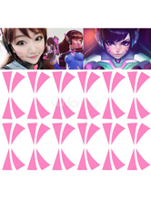 Anime Costumes AF-S2-662221 Overwatch D.va Cosplay Temporary Tattoo For Face