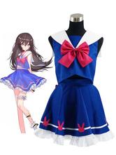 Anime Costumes AF-S2-662867 Overwatch Ow D.va Cosplay Costume School Girl Uniform