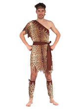 Anime Costumes AF-S2-662593 Wild Man Costume Tarzan Of The Apes Costume