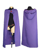 Anime Costumes AF-S2-662467 Teen Titans Go Raven Cosplay Costume
