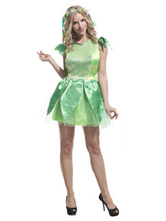 Anime Costumes AF-S2-662419 Sexy Fairy Costume Saint Patrick's Day The Wizard Of Oz Halloween Costume Green Party Dress Outfit