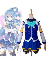 Anime Costumes AF-S2-662499 KonoSuba Aqua Cosplay Costume Konosuba: God's Blessing On This Wonderful World! Cosplay Costume