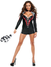 Anime Costumes AF-S2-663963 Sexy Referee Costumes Women's Escotado Football Girl T-back Dress